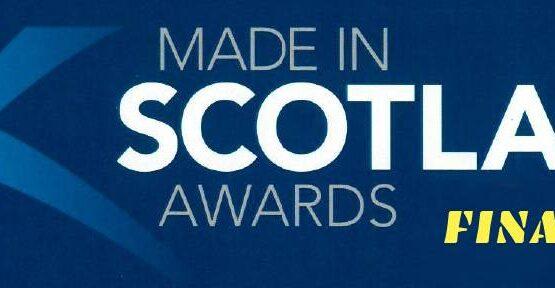 'Made in Scotland' Award Finalist banner